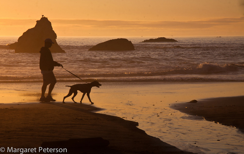 The Oregon coast with Brenda Tharp and Jed Manwaring, 2010.