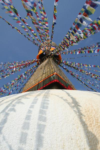 Bodhna Stupa, Kathmandu, Nepal. February 2007