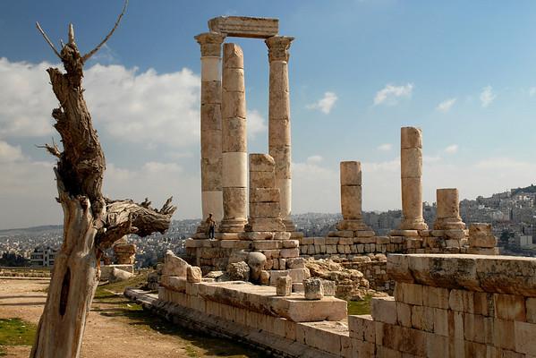 Citadel, Amman, Jordan. February 2008