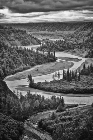 Meandering Alaskan River