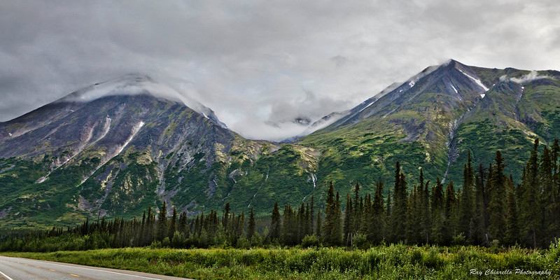Glacier-Carved Valley