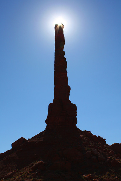 The Totem Pole, Monument Valley, AZ