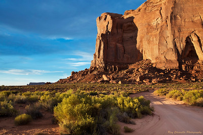 Late Day Sun in Monument Valley
