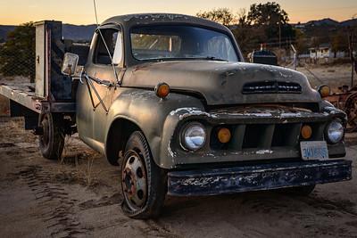 Studebaker Truck at Sunset