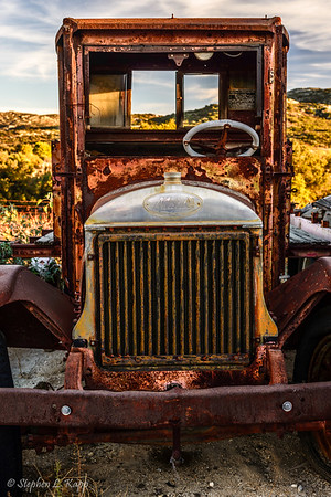 """""""Old School"""" Mack Truck"""