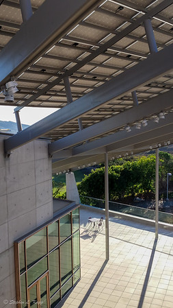J. Craig Venter Institute - Central Courtyard & Solar Panels