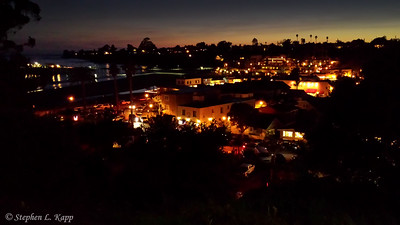 Capitola Esplanade and Capitola Village - Nightime