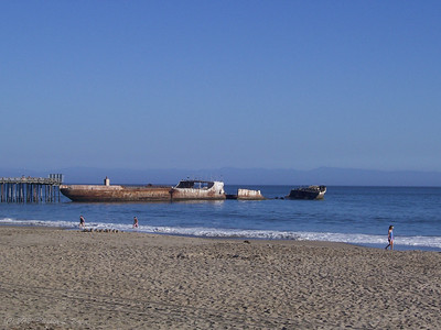 Cement Ship & Beach