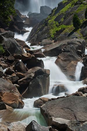 Below Vernal Falls - 2
