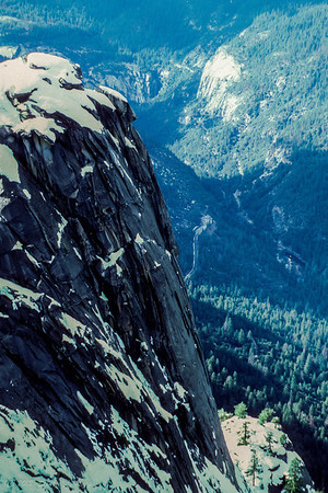 Dewey Point, Yosemite Valley (looking West)