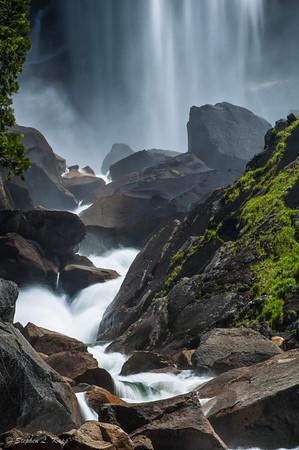 Below Vernal Falls - 1