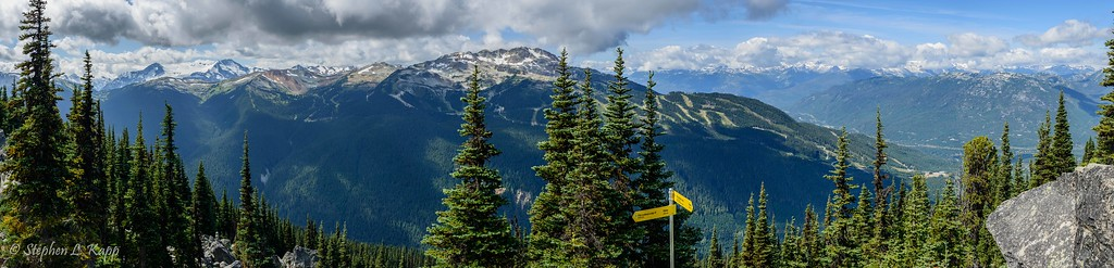 Alpine Loop Trail - View of Whistler Mountain