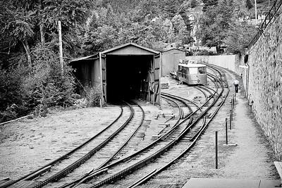 Pike's Peak Cog Railway Yard