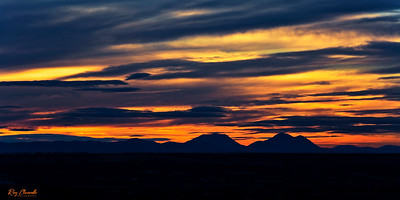 Sunset Colors - El Paso, Texas and Southern New Mexico