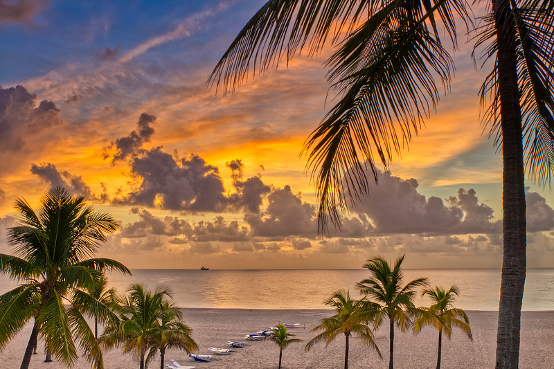 Sunrise Over Fort Lauderdale