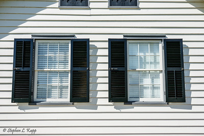 Open (Exterior) Shutters - Closed (Interior) Shutters
