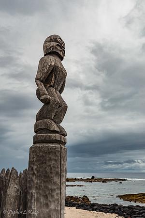 Pu'uhonua O Hōnaunau National Historical Park.  Hōnaunau, (Big Island) Hawaii