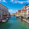 Canals in Venice Italy