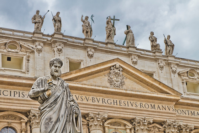 St. Peter's Basilica<br /> Rome, Italy