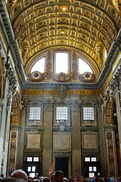 Entrance to the Nave of St. Peter's Basilica