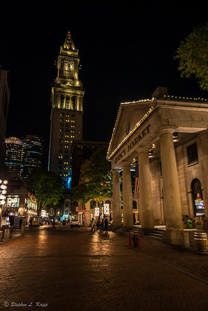 Quincy Market & Boston Customs House Tower