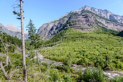 Bearhat Mountain and Avalanche Basin Below