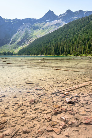 Avalanche Lake, Looking Southeast