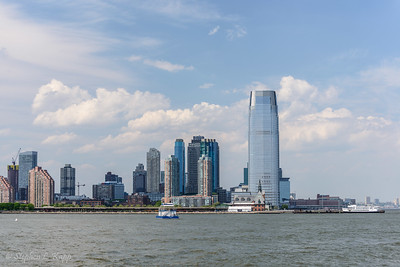 Jersey City and Goldman Sachs Tower