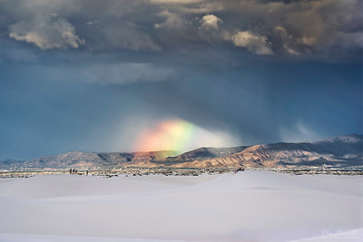 Rainbow Over Alamogordo, New Mexico