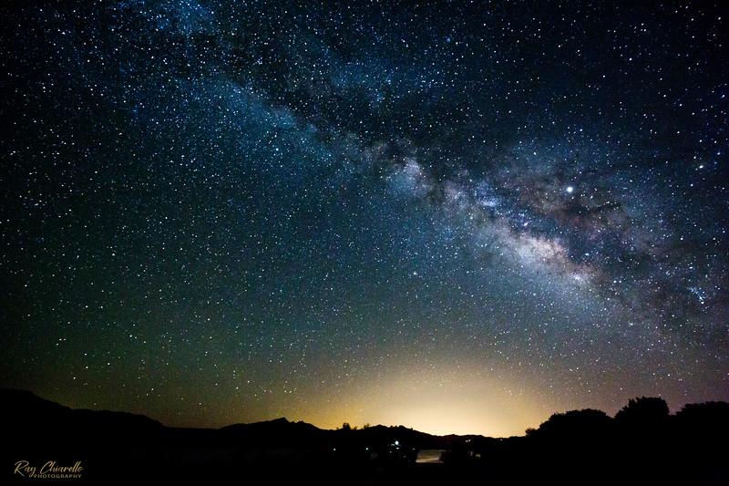 Milky Way Galaxy over Caballo, New Mexico