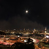 New York; Cityscape; Lights; Nightscape; NY; Chrysler building; Empire state building; Super moon