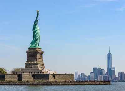 Statue of Liberty & Lower Manhattan Skyline