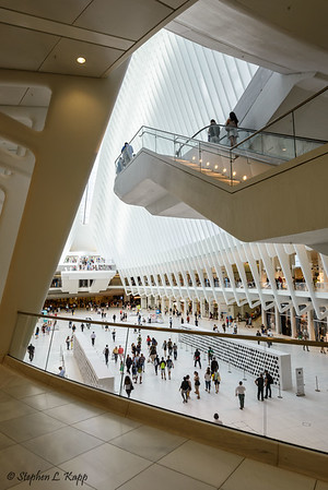 Inside the Oculus - Westfield World Trade Center
