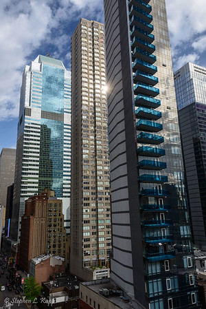 Morgan Stanley, Biltmore Apartments and Icon towers (l-r)