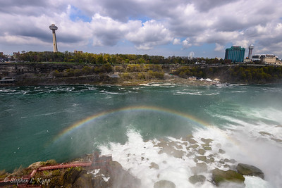 American Falls (Niagara Falls) and Rainbow