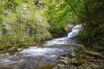 Above Buttermilk Falls