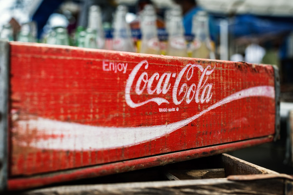 Old Coca Cola Box