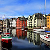 Alesund, Norway Harbour