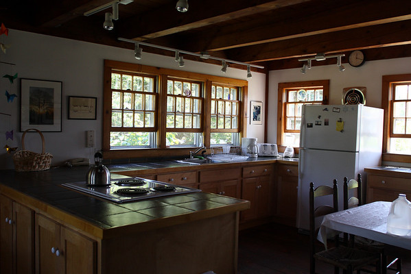 Kitchen, facing southeast.
