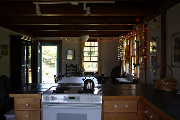 Kitchen, looking towards dining room.