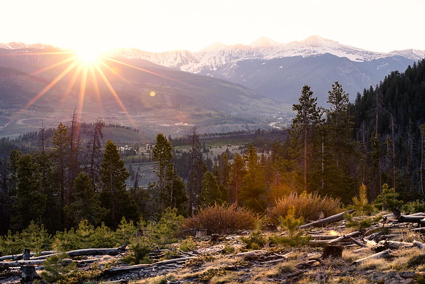 Continental Divide Sunrise