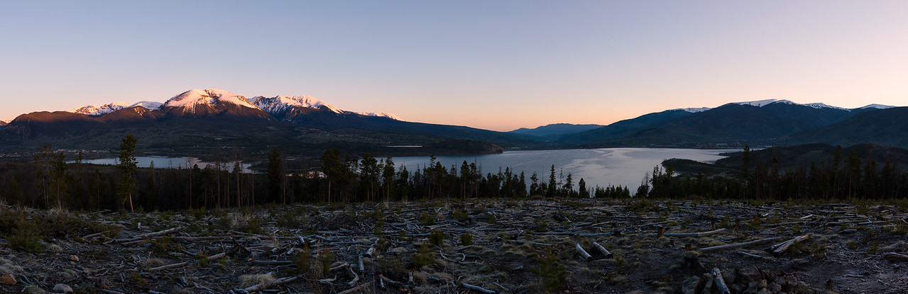 Dillon Reservoir Sunrise