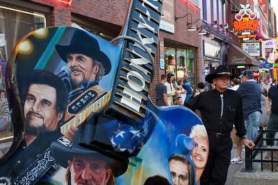 Downtown Street Scene Nashville, Tennessee