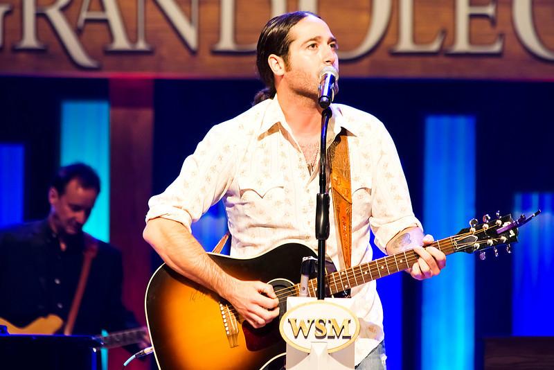 Josh Thompson<br /> Grand Ole Opry<br /> Nashville, Tennessee