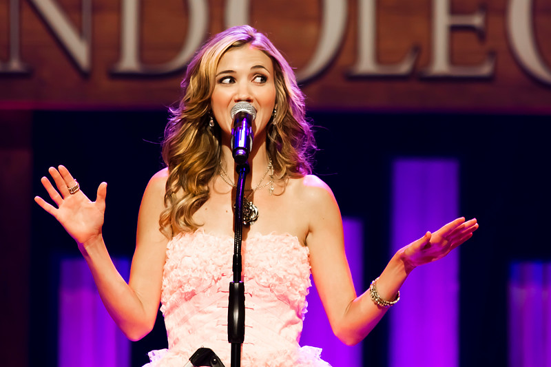 Sarah Darling<br /> Grand Ole Opry<br /> Nashville, Tennessee