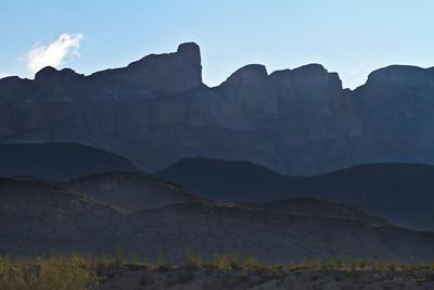 Sierra del Carmen Mountains