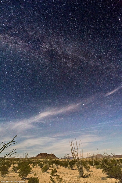 Terlingua, Texas Night Landscape