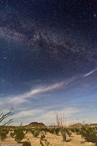 Terlingua, Texas Night Landscape