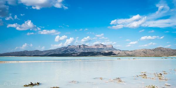 The Salt Flats after summer monsoon rains.