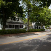 Walk three blocks to the right and you'll be in Edgartown's historic center and Edgartown Harbor.